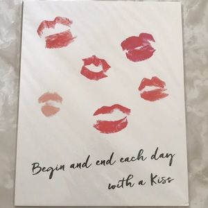 Art Print NWT Kiss Everyday